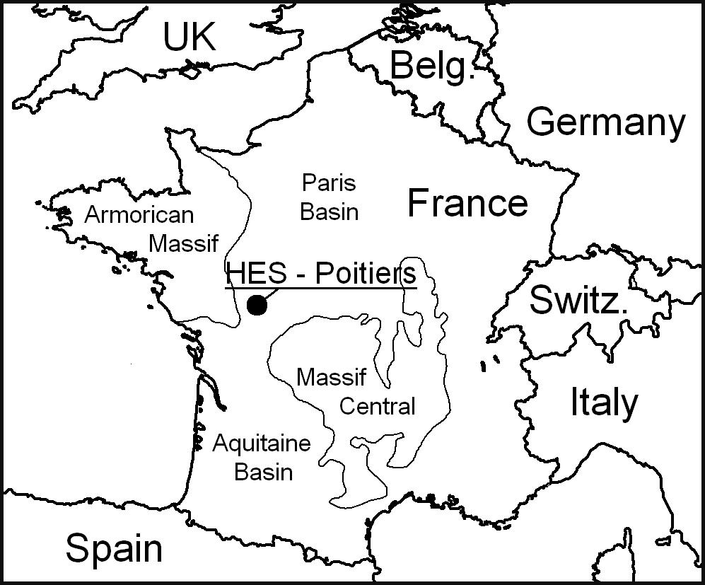 Figure 1: Location of the SEH